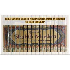 BUKU SYARAH SHAHIH MUSLIM (18 JILID LENGKAP)