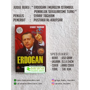 BUKU ERDOGAN | MUADZIN ISTAMBUL PENAKLUK SEKULARISME TURKI