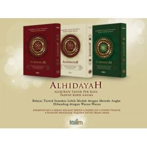 AL-QUR'AN AL-HIDAYAH UKURAN A4 (AL-QUR'AN TAFSIR PER KATA TAJWID KODE ANGKA)