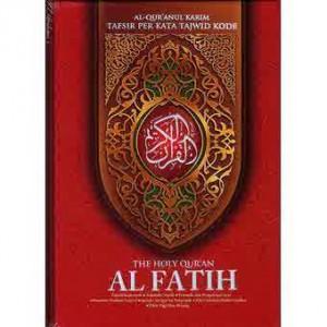 AL-QUR'AN AL-FATIH UKURAN A4 (Al Qur'an Terjemah Tafsir Per Kata Tajwid Kode)