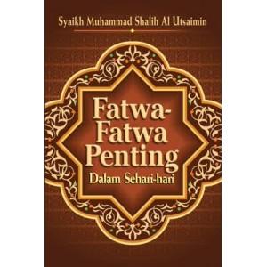 BUKU FATWA FATWA PENTING DALAM SEHARI HARI JILID 1 & 2