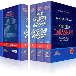 BUKU ENSIKLOPEDI LARANGAN 3 JILID LENGKAP -BUKU RUJUKAN LARANGAN DALAM ISLAM