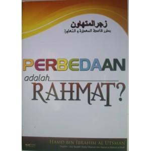 BUKU PERBEDAAN ADALAH RAHMAT???