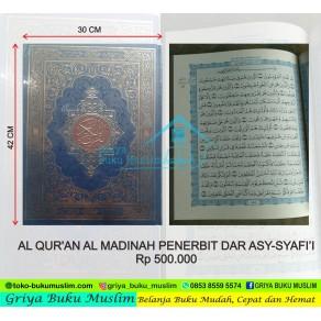 MUSHAF AL QUR'AN MADINAH JUMBO UKURAN A3 (30 X 42 CM)