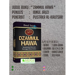 BUKU DZAMMUL HAWA