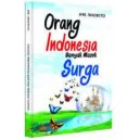 BUKU ORANG INDONESIA BANYAK MASUK SURGA
