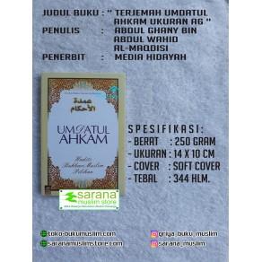 BUKU UMDATUL AHKAM UKURAN A6 SC (Hadits Pilihan Bukhari Muslim)
