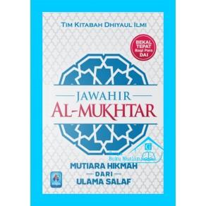 BUKU JAWAHIR AL MUKHTAR (Mutiara Hikmah Dari Ulama Salaf)