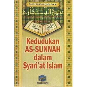 BUKU KEDUDUKAN AS SUNNAH DALAM SYARI'AT ISLAM