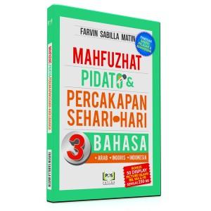 BUKU MAHFUZHAT PIDATO & PERCAKAPAN SEHARI-HARI 3 BAHASA (ARAB, INGGRIS, INDONESIA)