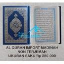 AL QUR'AN MUSHAF ASLI MADINAH HARD COVER UKURAN SAKU (8 CM X 11 CM)