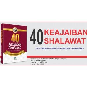 BUKU 40 KEAJAIBAN SHALAWAT