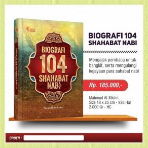 BUKU BIOGRAFI 104 SHAHABAT NABI
