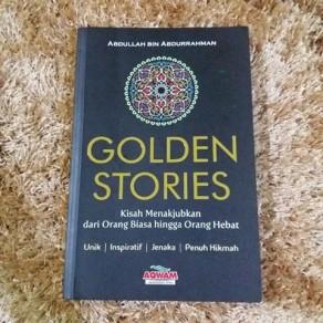 BUKU GOLDEN STORIES KISAH-KISAH ORANG HEBAT