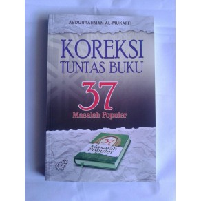 BUKU KOREKSI TUNTAS BUKU 37 MASALAH POPULER