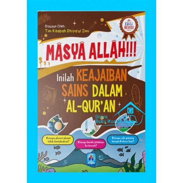 Buku Masya Allah Inilah Keajaiban Sains Dalam Al Qur An