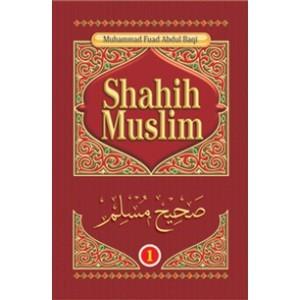 BUKU SHAHIH MUSLIM LENGKAP 1 SET JILID 1-4