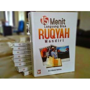 BUKU 15 MENIT LANGSUNG BISA RUQYAH MANDIRI BONUS VCD