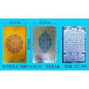 AL QURAN COVER EMAS/PERAK SUPER JUMBO (26,5 X 36 CM)