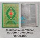 AL QURAN TERJEMAH TAFSIR AL MUYASSAR MUSHAF MADINAH UKURAN A5