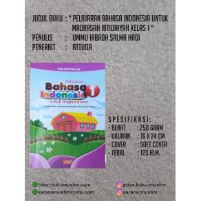 BUKU PELAJARAN BAHASA INDONESIA UNTUK MADRASAH IBTIDAIYAH KELAS 1