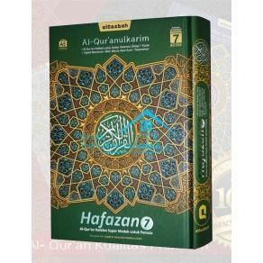AL QUR'AN HAFALAN AL QOSBAH HAFAZAN 7 UKURAN A5