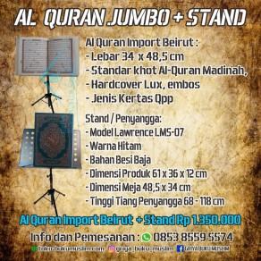 AL QURAN IMPORT BEIRUT JUMBO PLUS STANDING TRIPOD