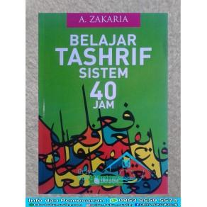 BUKU BELAJAR TASHRIF SISTEM 40 JAM