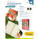 AL-QUR'AN AL-WAFA MUJAZZAK PER 5 JUZ RUBU' BOX MIKA UKURAN B7 (9 CM X 12,5 CM)