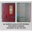 AL QURAN AZALIA TERJEMAH UKURAN A5 AGENDA FOR WOMAN