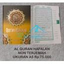 AL QURAN HAFALAN A5 (14,5 CM X 20,5 CM) HARD COVER HALIM QURAN
