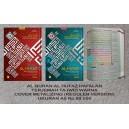 AL QURAN AL HUFAZ HAFALAN TERJEMAH TAJWID WARNA A5 COVER METALIZING (REGULER VERSION)