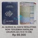 AL QURAN AL-HAFIZ HAFALAN NON TERJEMAH UKURAN A6 RESLETING